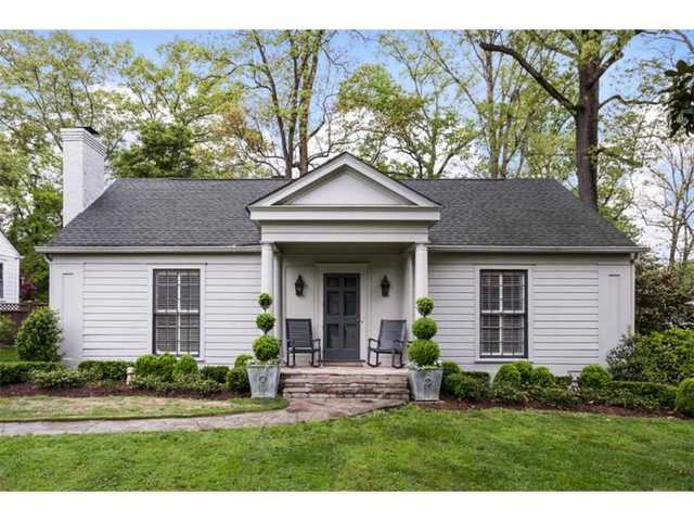 Nestled On One Of The Most Coveted Streets In Collier Hills