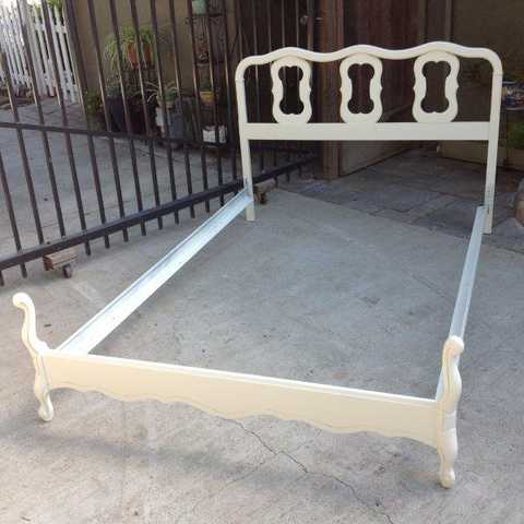 Vintage French Provincial Full Size Bed