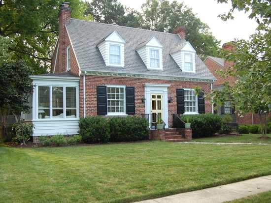 Classic, Charming Brick And Slate Cape With Open Floor Plan And T