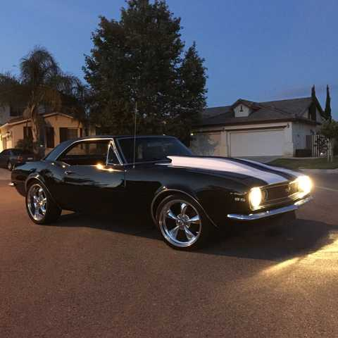 1967 Chevrolet Camaro Ss At $4000