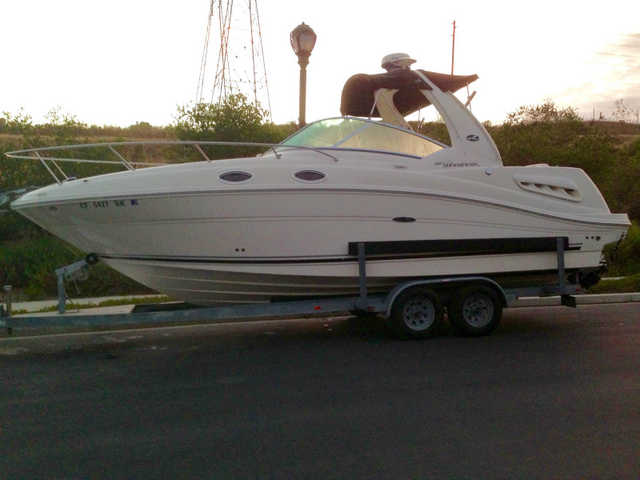 2007 Sea Ray Sundancer 260 At $5000