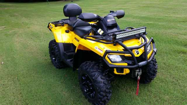 2011 Can Am Outlander At $2500