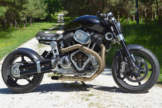 2012 Confederate Hellcat X132 Motorcycle