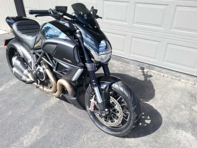 2013 Ducati Diavel Cromo Wfull Termignioni Exhaust And Carbon