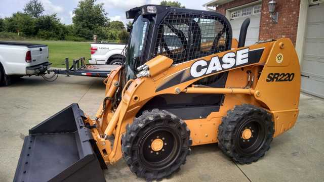 2011 Case Skid Steer Sr220 At $3000