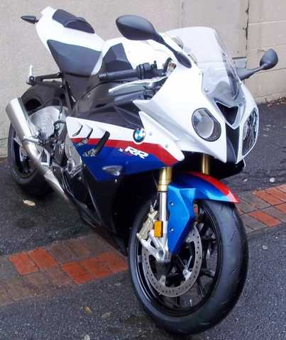 2010 Bmw S1000rr Tri - Color, New Set Of Pirelli Supercorsa Tires