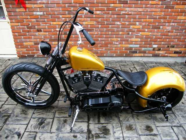 2012 Custom Built Motorcycles Bobber