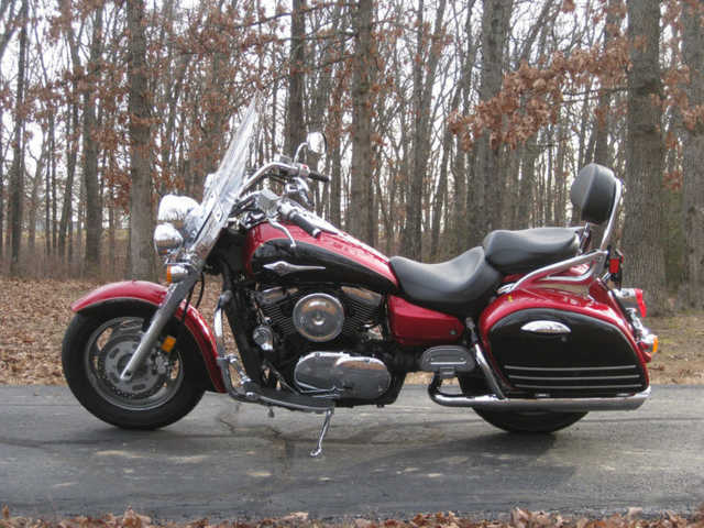 2008 Kawasaki Vulcan 1600 Nomad Excellent Condition