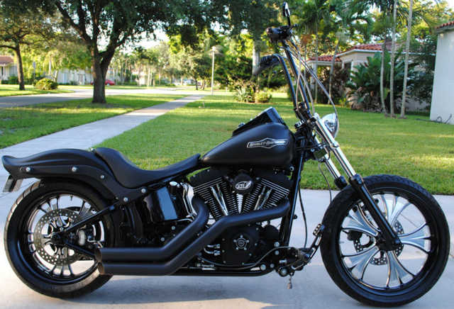 2008 Harley - Davidson Softail Fxstb Night Train
