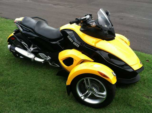 2010 Can - Am Spyder Rs