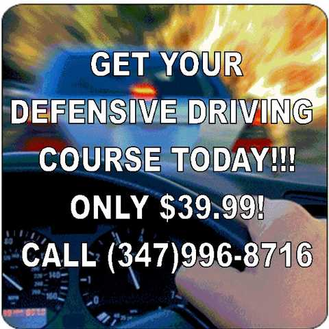 Defensive Driving Courses Points Off License & Insurance Discount
