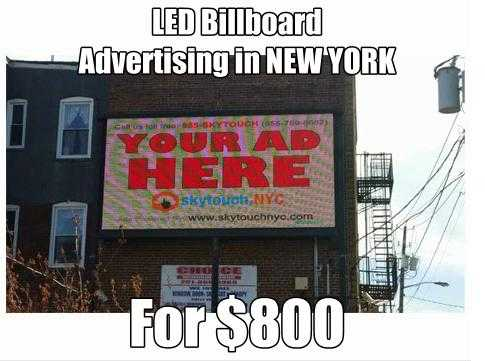 Billboard Advertising Agency - Skytouch Nyc