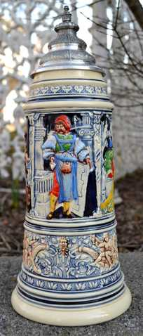 30% Cash Back On Beer Stein Medieval Master Crafters