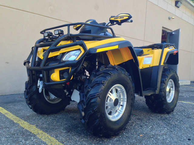 2011 Can Am Outlander Xt At $2300