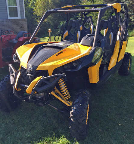 2014 Canam Maverick Max 1000r At $5000