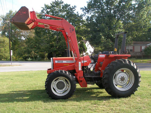 2009 Massey Ferguson 362 4x4 Tractor At $2800