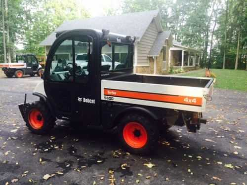 2006 Bobcat Toolcat 5600 At $3000
