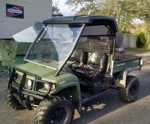 2008 John Deere 620i Gator At $2200
