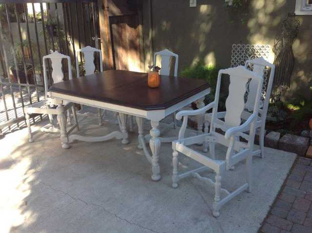 Vintage Jacobean Dining Set