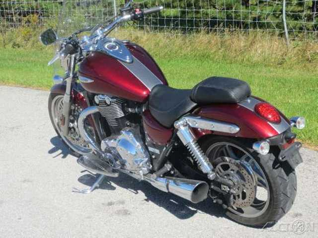 2014 Triumph Thunderbird Commander - Clear