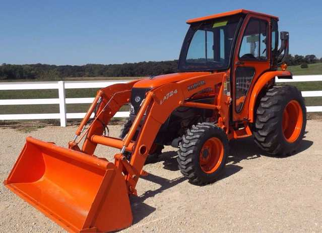 2012 Kubota L3240 - Hst Tractor At $3800