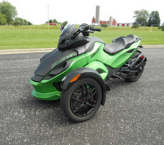 2012 Can - Am Spyder Rss