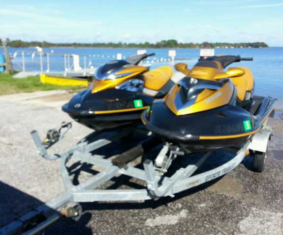 Two 2006 Seadoo's Supercharged Rxp / Rxt At $4000