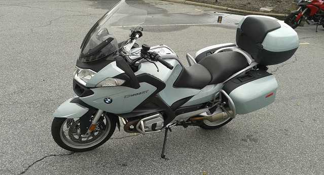 2011 Bmw R1200rt Polar Metallic Blue