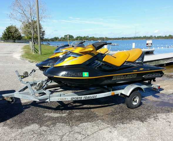 Two 2006 Seadoo's Supercharged Rxp / Rxt At $3500