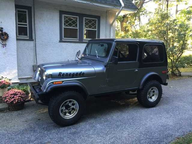 1979 Jeep Renegade Cj7