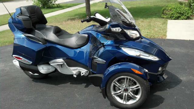 2011 Can - Am Spyder Rt - S Se5