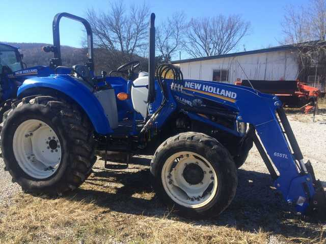 2012 New Holland T4.75 Tractor At $3500