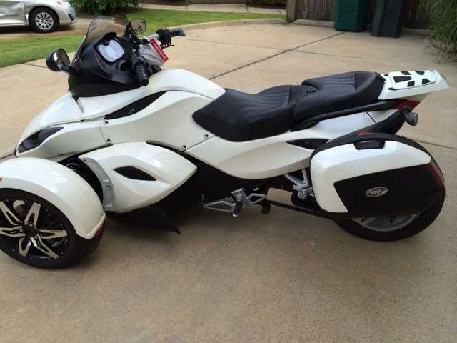 2010 Can Am Spyder Rs - S Se5