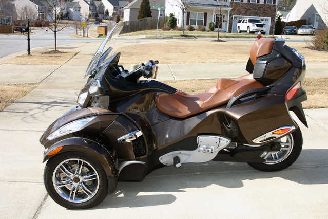 2012 Can - Am Spyder Rt Limited Trike Loaded