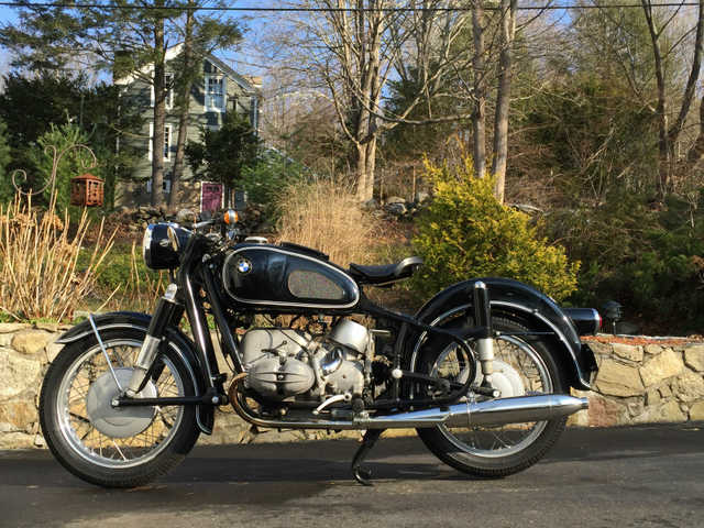 1965 Bmw R69s Motorcycle