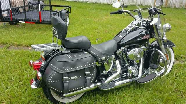 2006 Harley Davidson Softail Heritage Brand New Tires