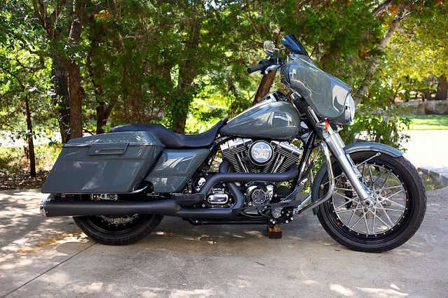 2009 Harley Street Glide Flhx Owned By Jesse James