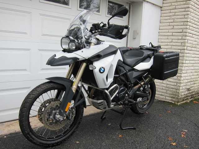 2011 Bmw F800gs White