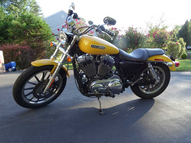 2007 Harley Davidson Sportster Low Xl1200l Clear
