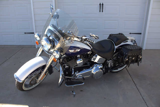 2007 Harley Davidson Softail Deluxe - Touring
