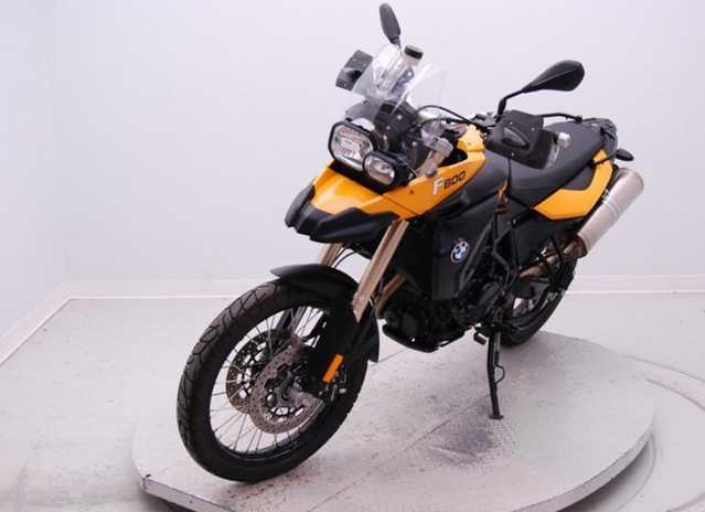 2009 Bmw F800gs Yellow