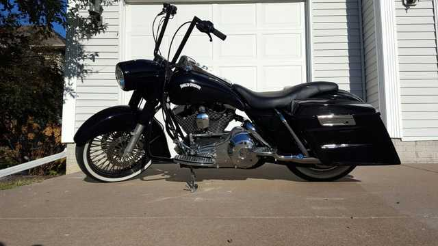 2003 Harley Davidson Road King Black
