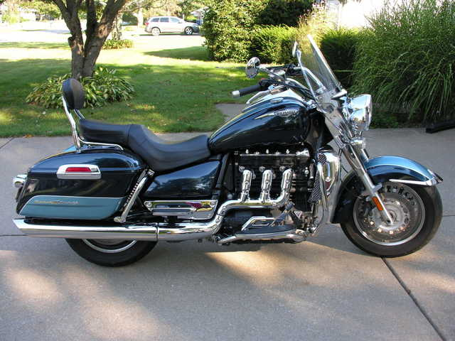 2008 Triumph Rocket Iii Touring Model - Two Tone Blue