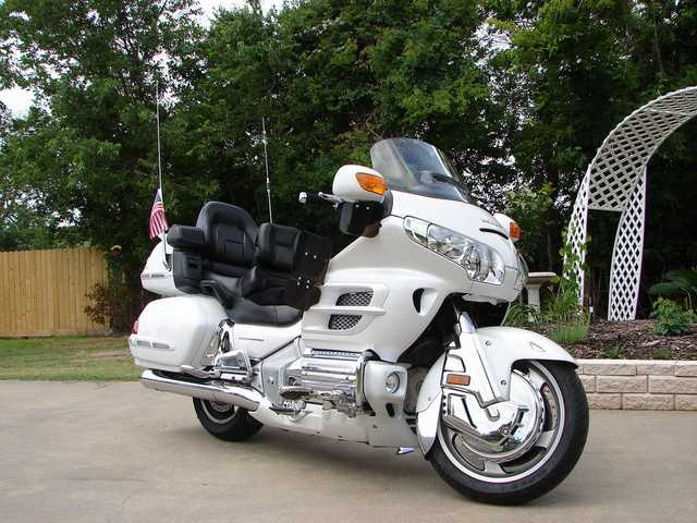 2008 Honda Goldwing Pearl White