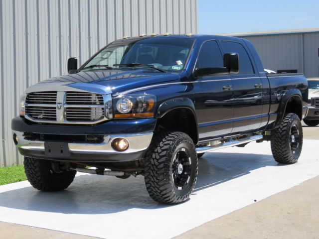 2006 Dodge Ram 2500 Slt Mega - Cab Short Bed Diesel 4x4 5.9 Cummins