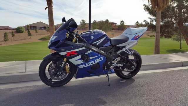2004 Suzuki Gsxr 600, Showroom Condition, Low Miles