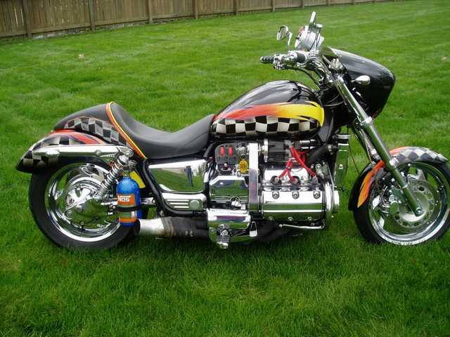 1998 Supercharged Honda Valkyrie With Many Parts !