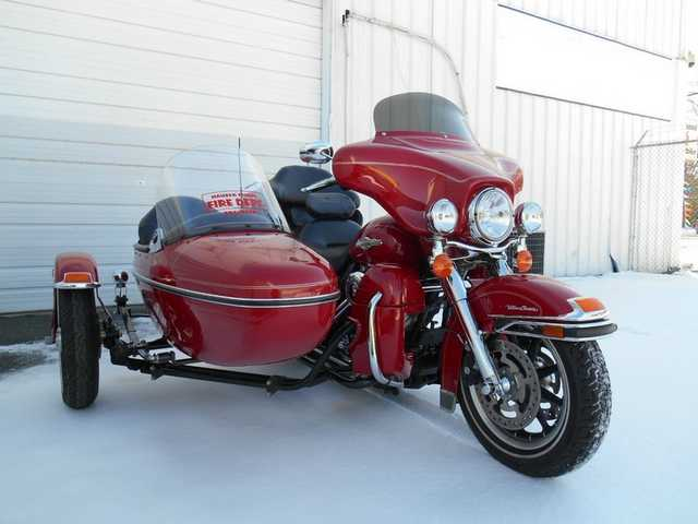 2008 Harley - Davidson Electra Glide Ultra Classic Firefighter Edit