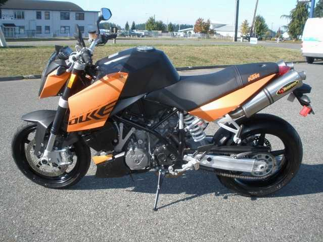 2007 Ktm Super Duke Arakpovic Exhaust