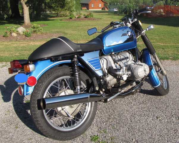 1972 Bmw R755 Monza Bluetoaster - Clean Running Condition, Cafe